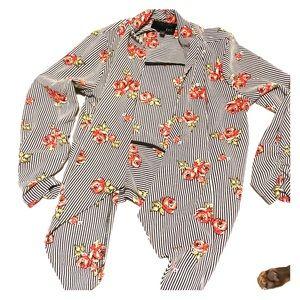 Lightweight Floral Blazer/Coverup $12
